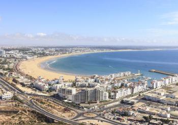 Онлайн веб камера панорама Агадир, Марокко