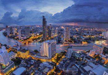 Онлайн веб камера панорама города Бангкок