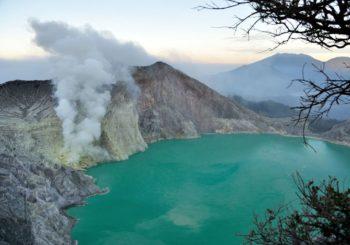 Онлайн веб камера Индонезия вулкан Иджен