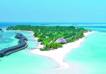 Онлайн веб камера Мальдивы остров Куреду