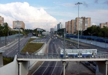 Онлайн веб камера Москвы Волоколамское шоссе