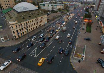 Онлайн веб камера Москвы улица Сергия Радонежского