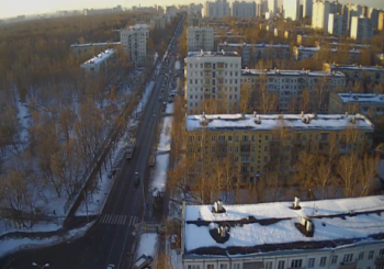 Онлайн веб камера Москвы улица Юных Ленинцев