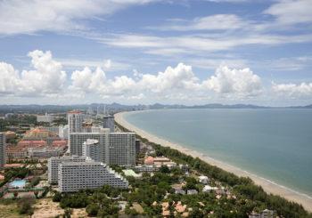 Онлайн веб камера Таиланд Паттайя панорама побережья