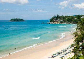 Онлайн веб камера Тайланда Пхукет пляж Ката Ной