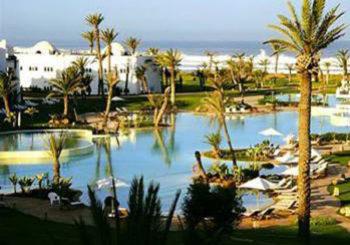 Онлайн веб камера бассейн отеля Агадир, Марокко