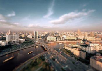 Онлайн веб камера панорама Москвы