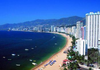 Онлайн веб камера пляж Акапулько, Мексика