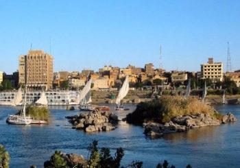 Онлайн веб камера Египет Асуан река Нил