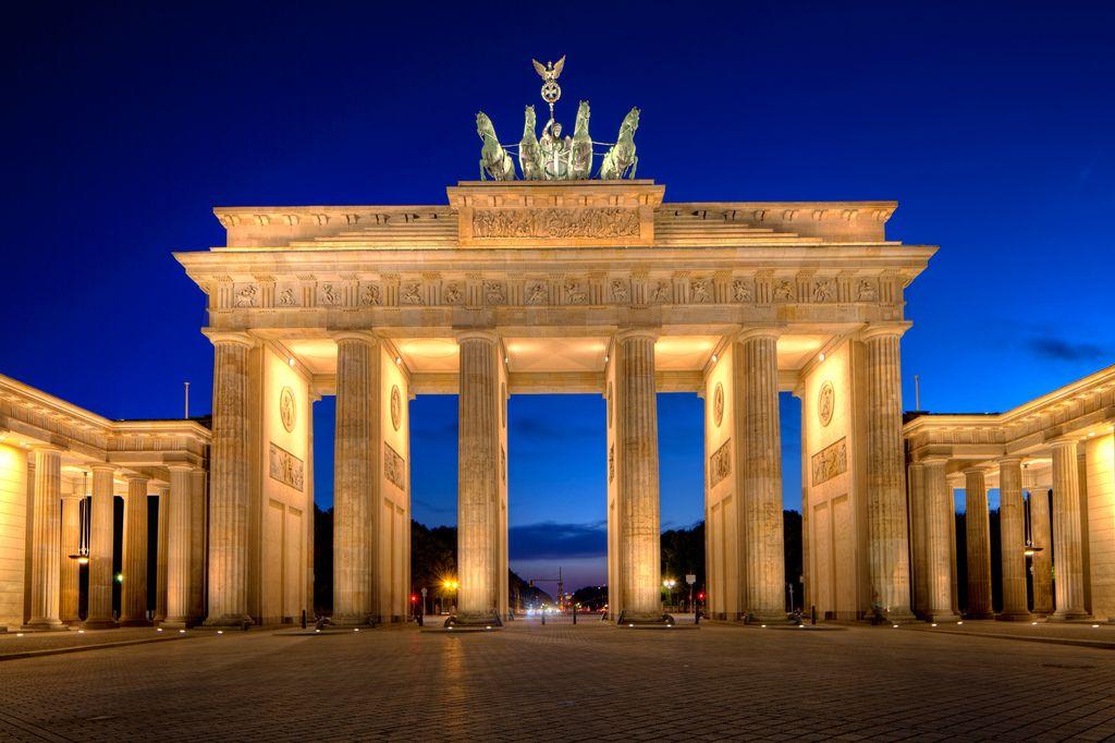 берлин фото бранденбургские ворота