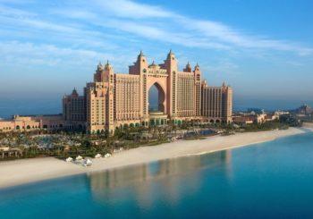 Онлайн веб камера ОАЭ Дубай отель Атлантис Палм Королевская башня