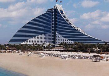 Онлайн веб камера ОАЭ Дубай пляж отеля Джумейра
