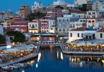 Онлайн веб камера Греция остров Крит порт Сития