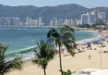 Онлайн веб камера Мексика Акапулько залив Санта-Люсии