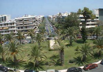 Онлайн веб камера Греции, Крит, Ханья, площадь Элефтерия
