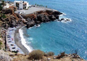 Онлайн веб камера Греции, Крит, пляж в Хора Сфакион