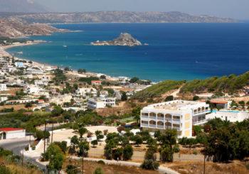 Онлайн веб камера Греции, остров Кос, пляж Кефалос