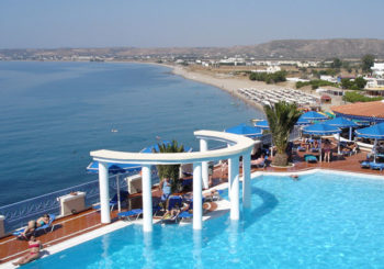 Онлайн веб камера Греции побережье острова Кос