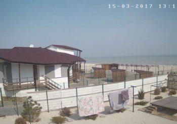 Онлайн веб камера Бирючий остров в Кирилловке Украина