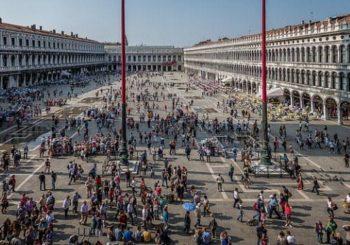 Онлайн веб камера площадь Сан-Марко в Венеции, Италия
