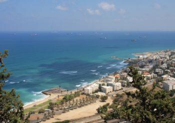 Онлайн веб камера в Израиле на пляже Хайфы
