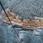 Онлайн веб камеры курорта Роза Хутор в Сочи